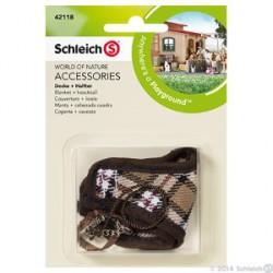 Schleich - Ruskea loimi ja päitset 42118