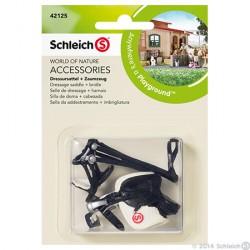 Schleich - Kouluratsastusvarusteet 42125