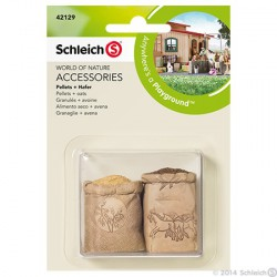 Schleich - Pelletti ja kaura pakkaus 42129