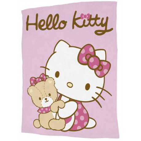 Hello Kitty - Fleece huopa